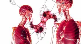 Стойкое обширное поражение лёгких у больных COVID-19