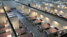 В Смольном сказали, почему до сих пор закрыт госпиталь в «Ленэкспо»